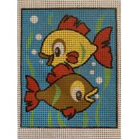 Stramaj broderi - fisk