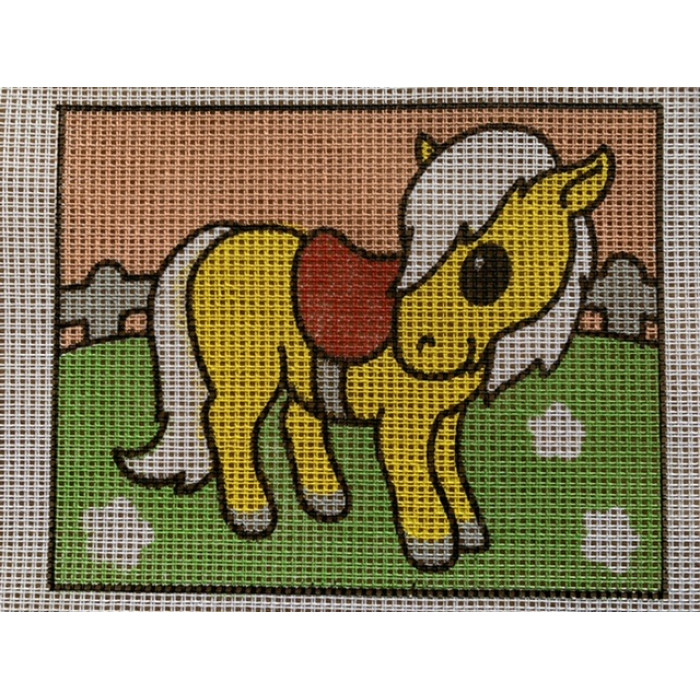 Stramaj broderi - Hest gylden