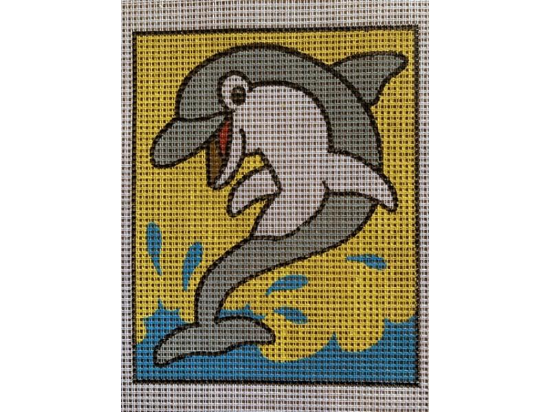 Stramaj broderi - delfin