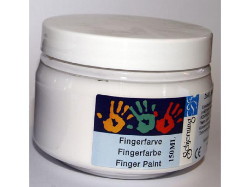 Fingermaling- Hvid
