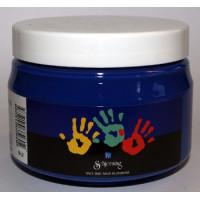 Fingermaling- Blå
