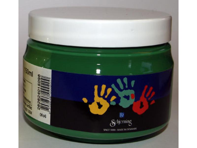 Fingermaling- Grøn
