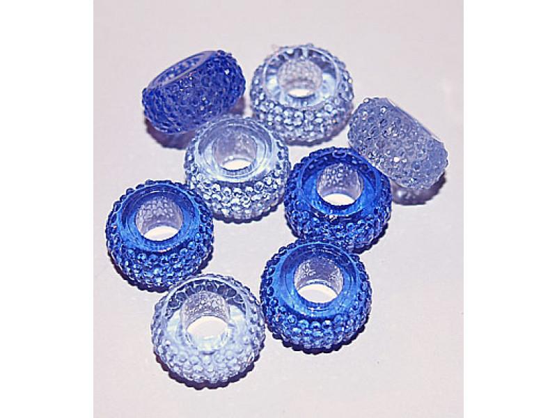 Harpiks perler- Blå