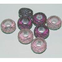 Harpiks perler- Lyserød