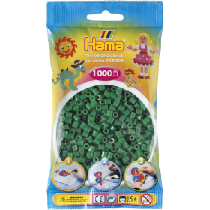Hama Perler- 207-10