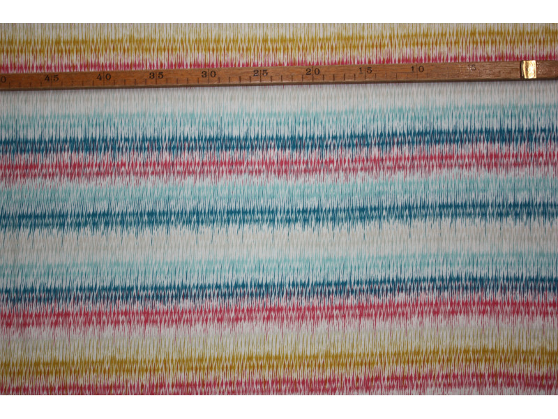 "Zig zag striber - ""Art Gallery Fabrics"" bomuldsjersey"
