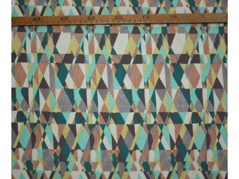 "Grafisk - ""Art Gallery Fabrics"" bomuldsjersey"