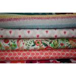 "Blomster - ""Art Gallery Fabrics"" bomuldsjersey"