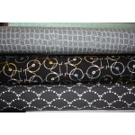 """Kvadratkæde - """"Art Gallery Fabrics"""" bomuldsjersey"""