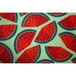 Bomuldslærred- Vandmelon