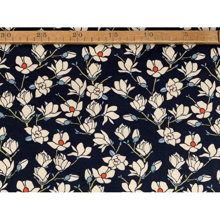 "Blomster ranker - ""Art Gallery Fabrics"" bomuldsjersey"