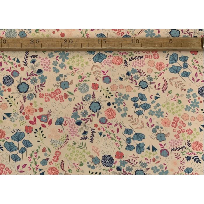 "Lille blomster mix - ""Art Gallery Fabrics"" bomuldsjersey"