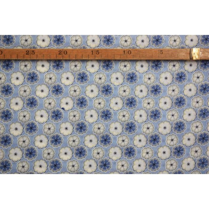 Liberty- Blå blomst