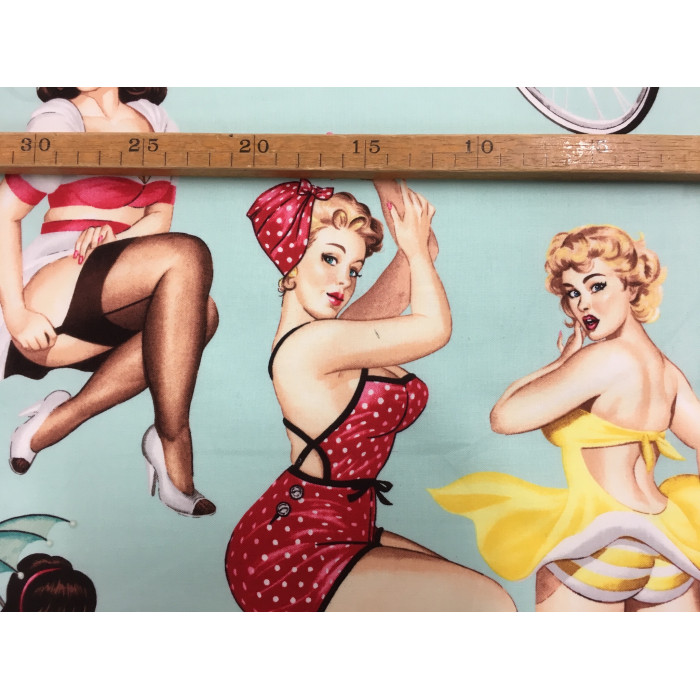 "Patchwork - ""Pinup-girls"""