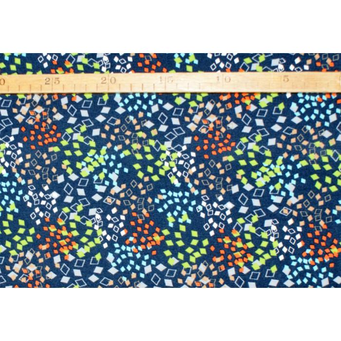 Kantede prikker - Bomuldsjersey
