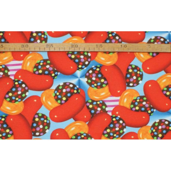 """Candy"" - digital bomuldsjersey"