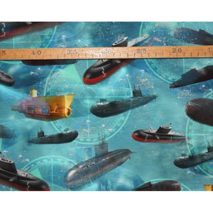 Bomuldsjersey - Ubåd