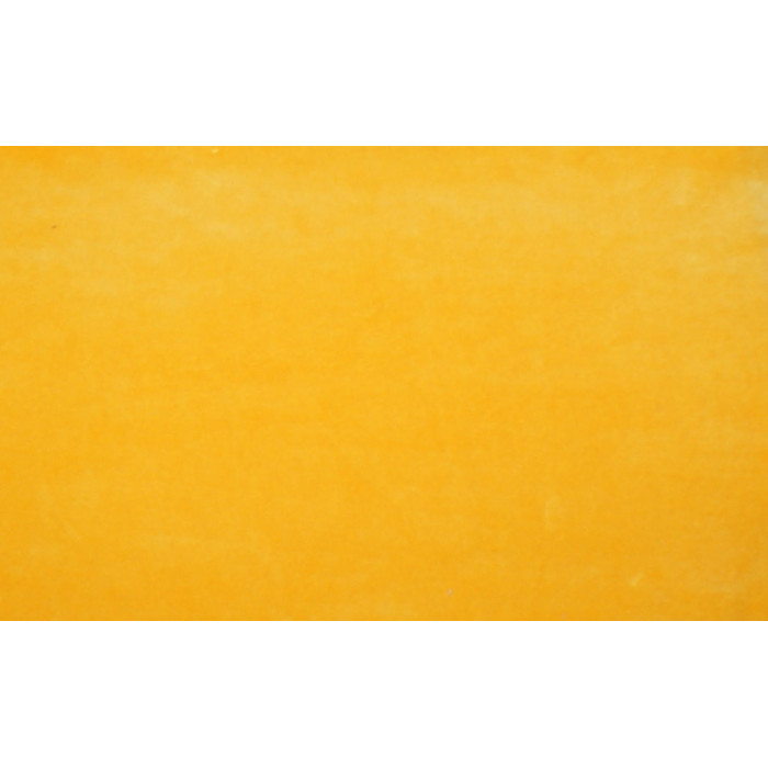 Strækvelour - Gul, Ensfarvet. Nr. 5009