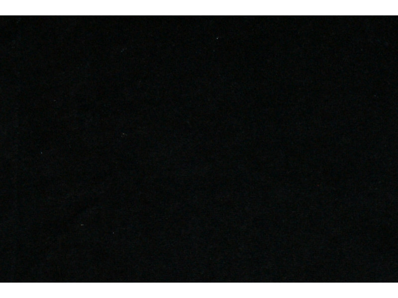 Strækvelour - Sort, ensfarvet. Nr. 5033