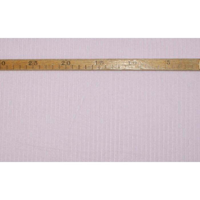 """Strækvelour - Sart lyserød, ensfarvet, """"riflet"""" kvalitet alá fløjl. Nr. 5040"""