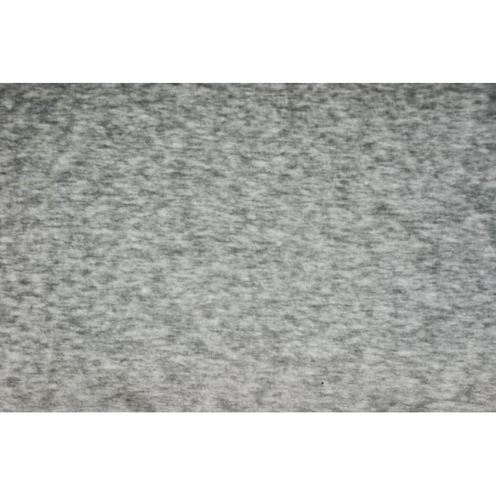Strækvelour - Meleret lys grå. Nr. 5069