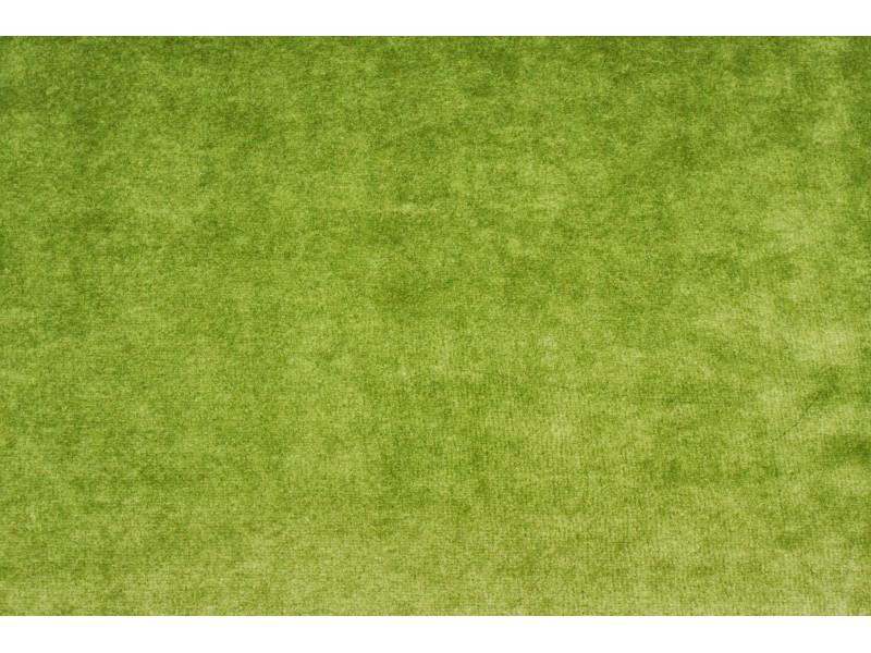 Strækvelour - Oliven, ensfarvet. Nr. 5071