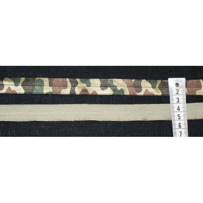 Foldeelastik - Armygrøn