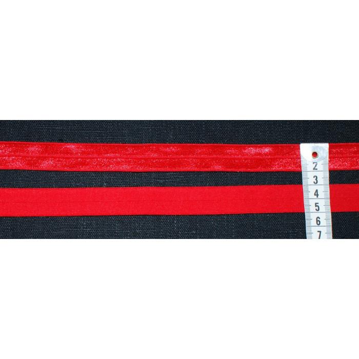 Foldeelastik - Rød